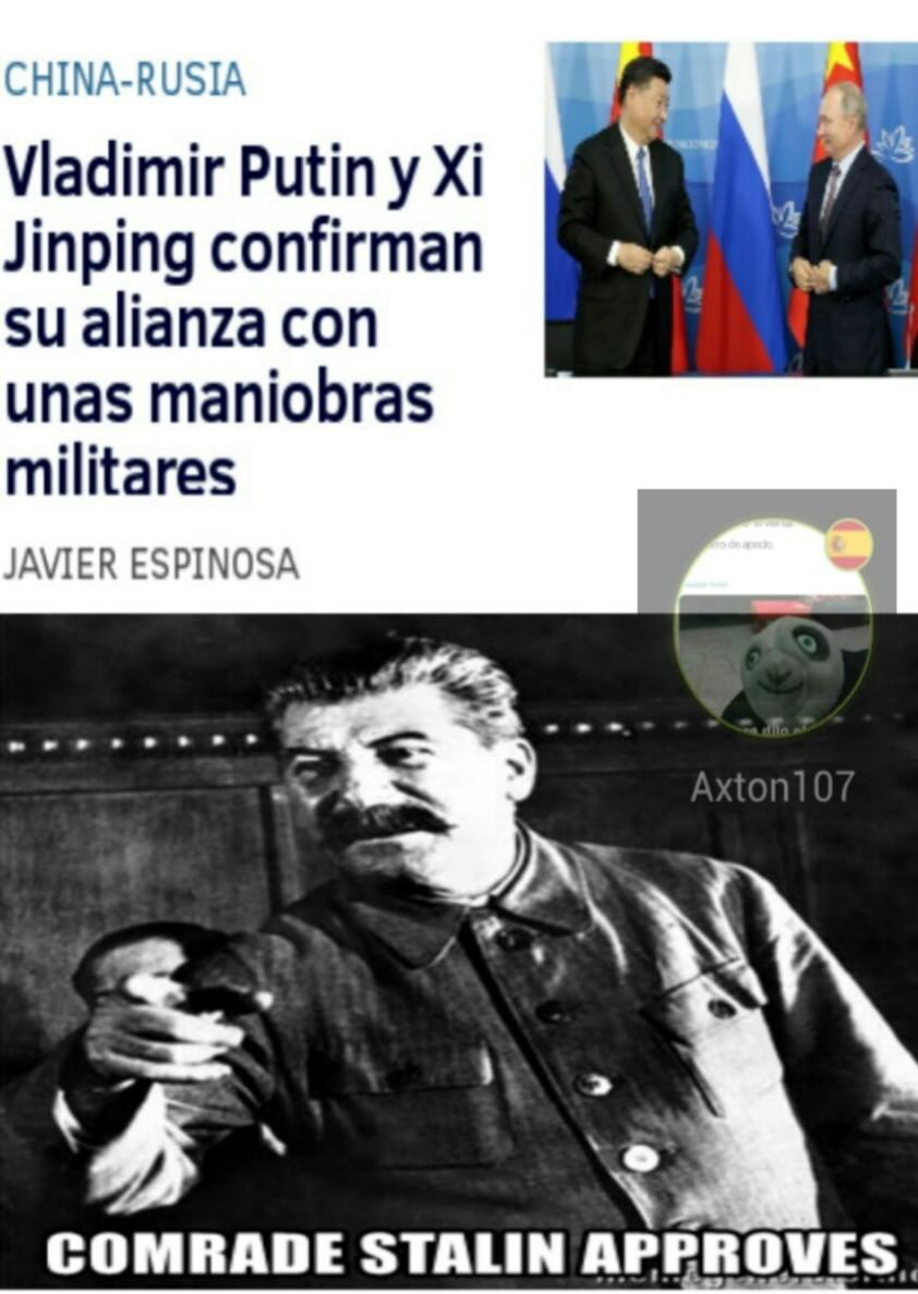 Stalin observa xd - meme