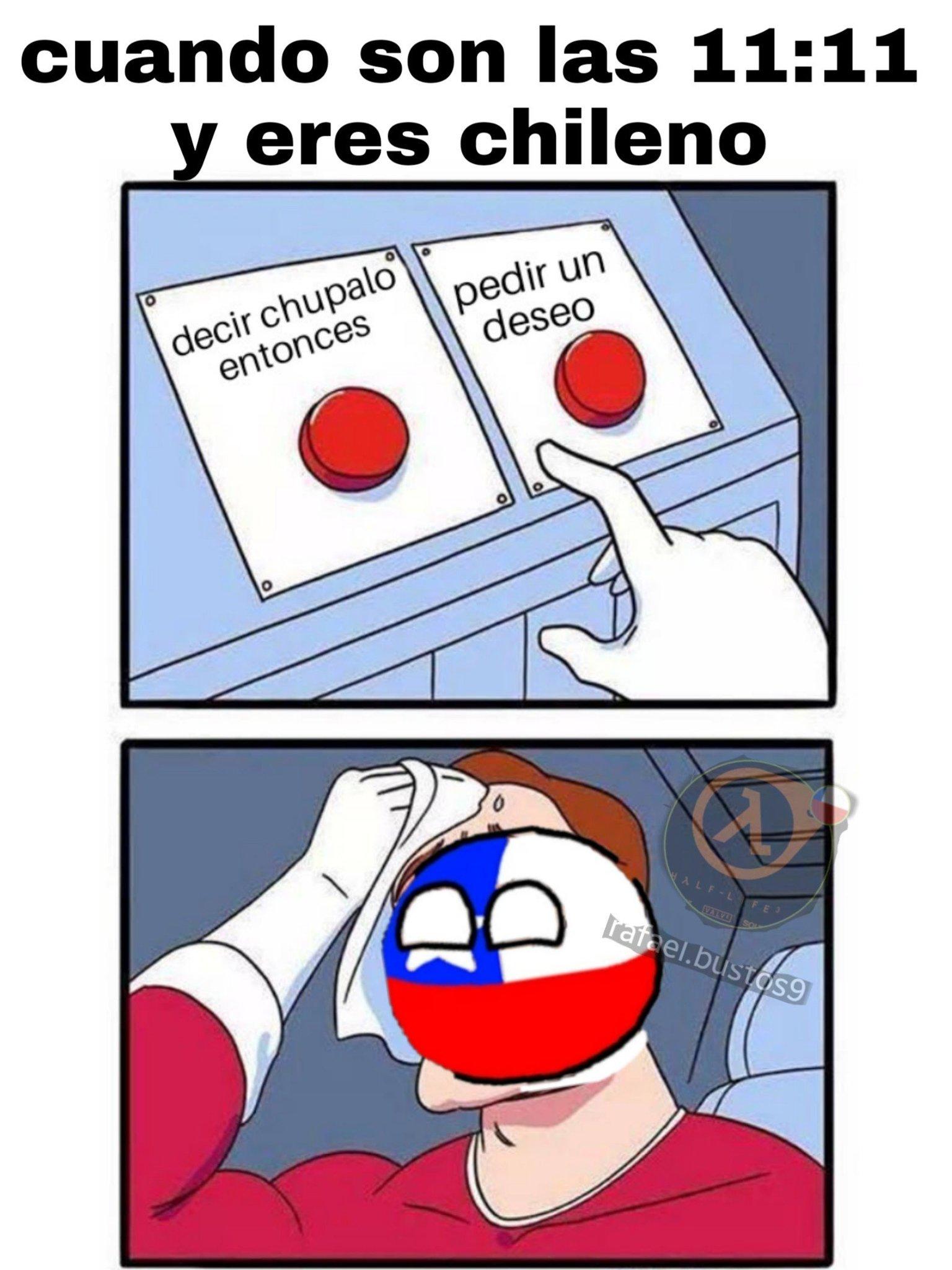 Típico chileno - meme