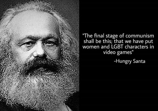 The women in games the marxier it gets - meme