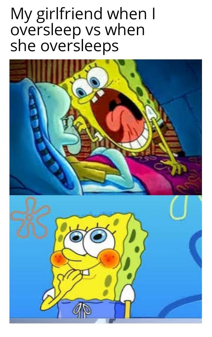 Lie in - meme