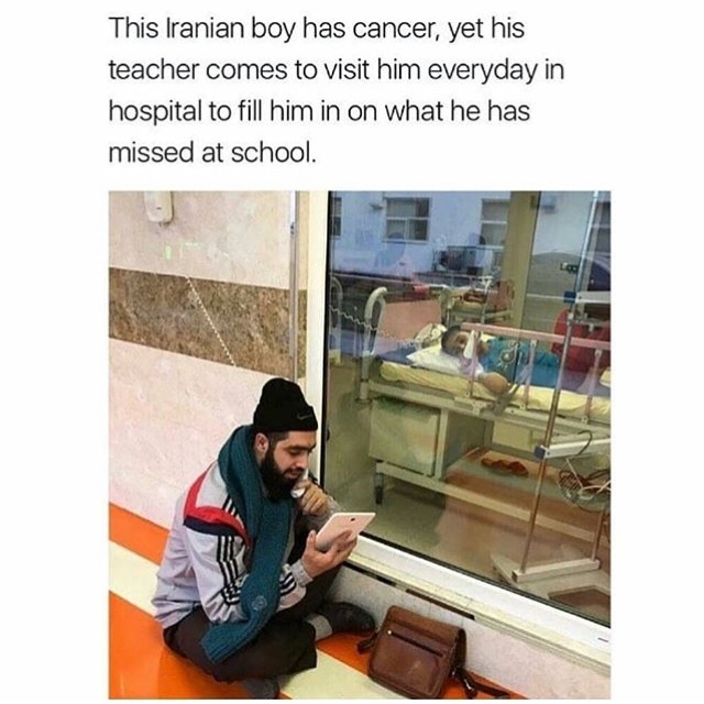 Iranians are good people - meme