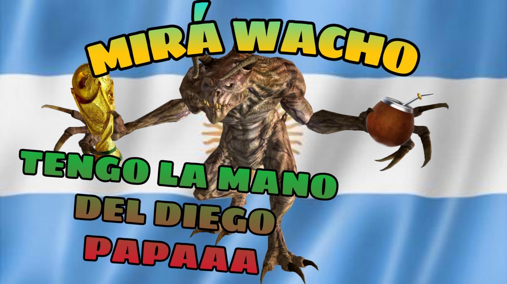 Sanguinario argentino - meme