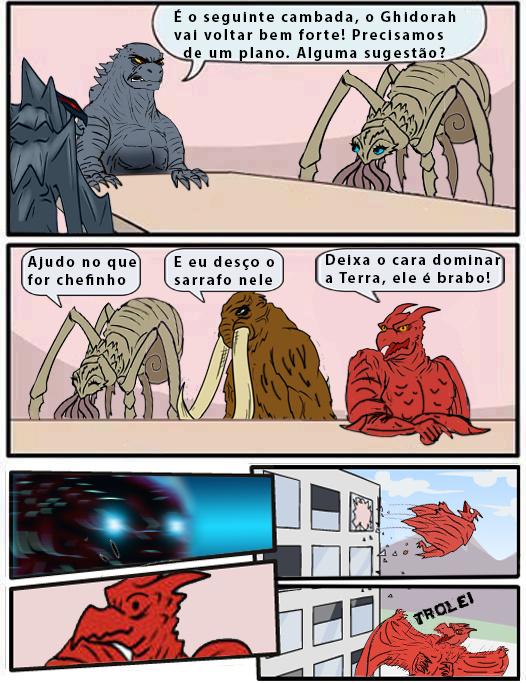 Godzilla King of Monsters Meme
