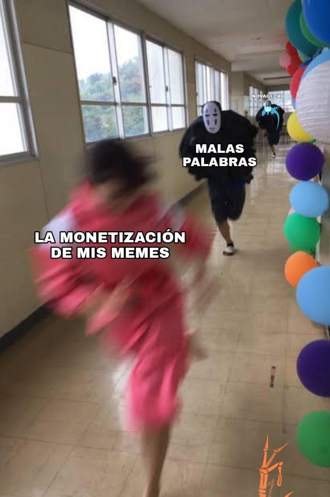 Nooooo, me desmonetizaron el meme