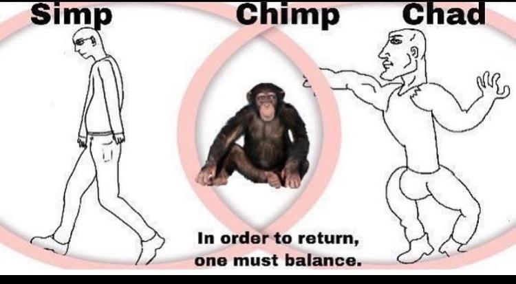 return to chimp - meme