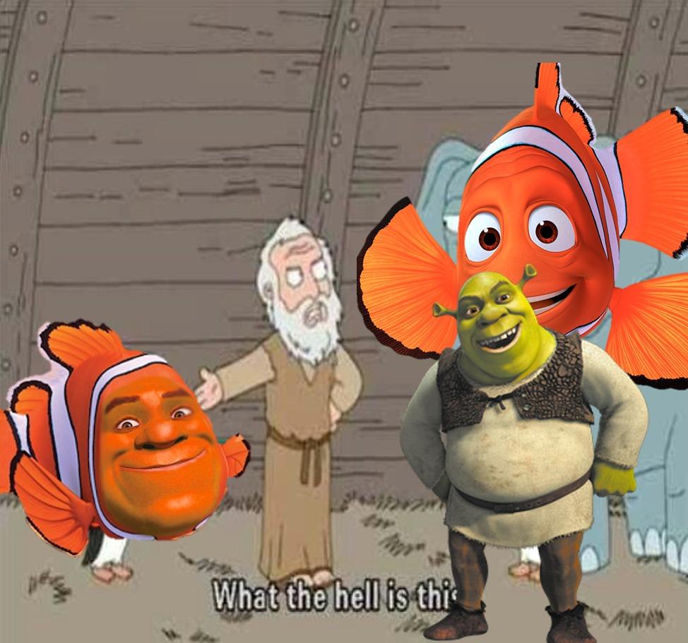 Shrek, what have you done - meme