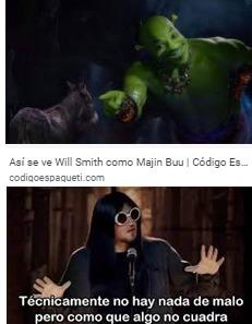 Ya decidanse es Shrek o Majin Buu - meme
