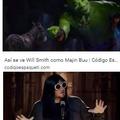 Ya decidanse es Shrek o Majin Buu