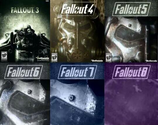 As capas dos próximos Fallout