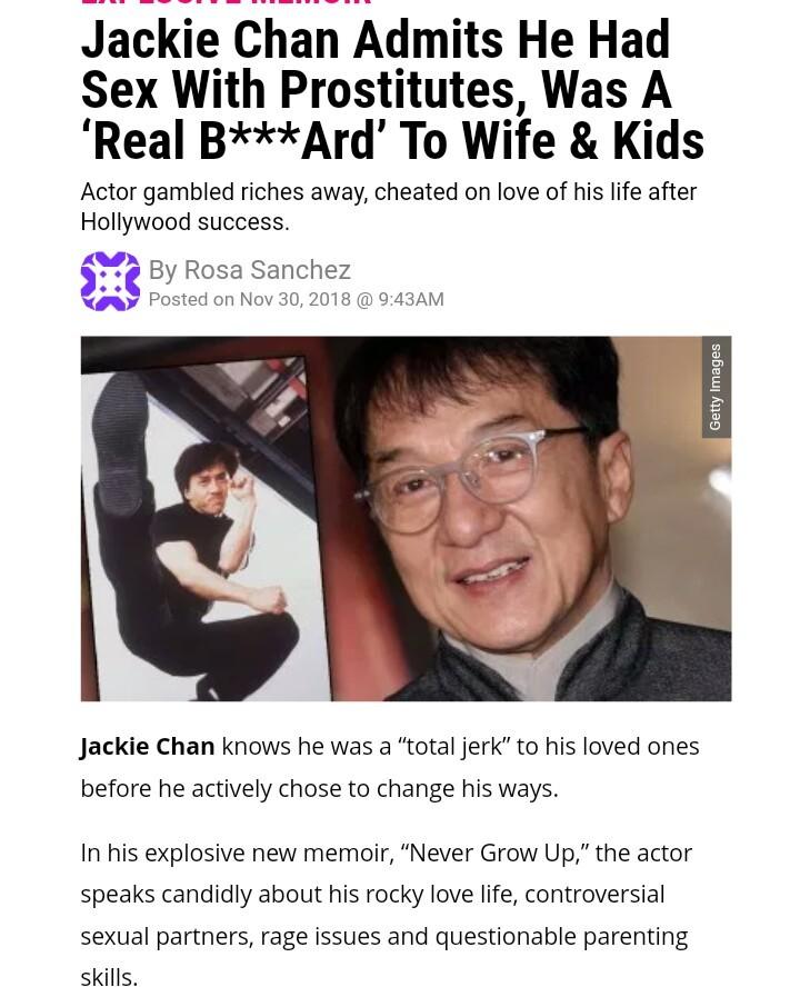 Good guy Jackie Chan - meme