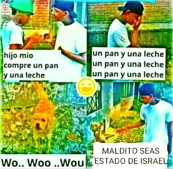 Odio israel - meme