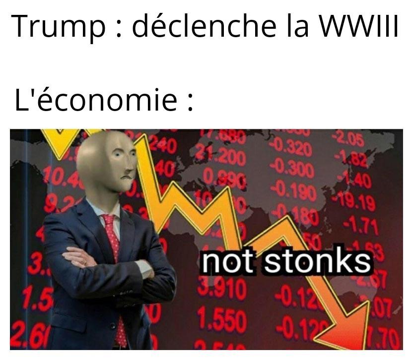 Un énième même sur la WWIII - meme