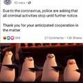 Crime bad.