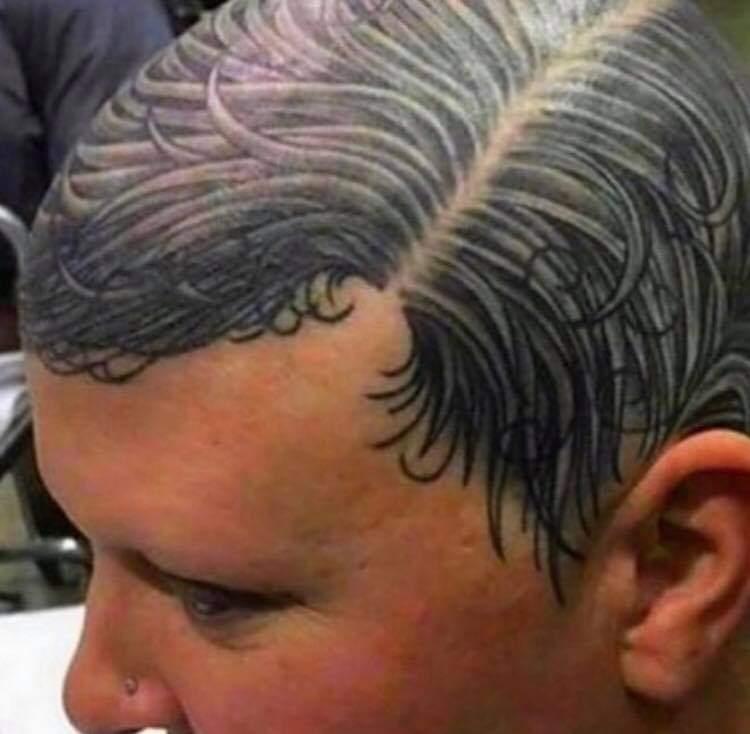 La solution pour les chauves non ? - meme