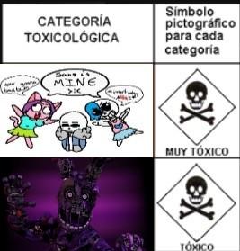 Niveles de toxicidad (aceptado facil?) - meme