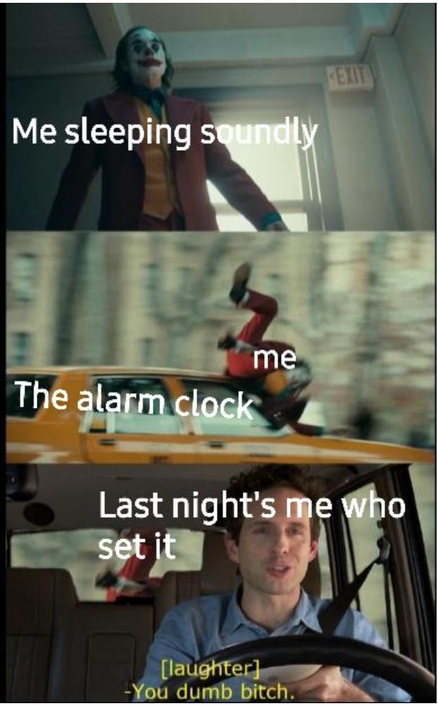 I played myself - meme