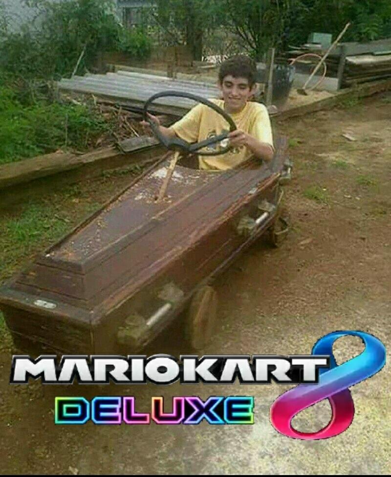 Mario Kart 8 Deluxe - meme