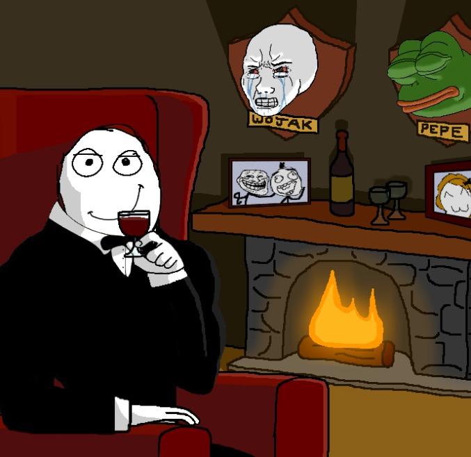 wojaks:virgin rage comics:chad - meme