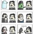 What Edgar Allan Poe is afraid of
