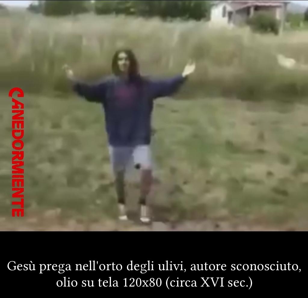 Questo ritratto è stato trovato in una xhiesa distrutta ad amatrice, upvote per salvare il patrimonio artistico italiano - meme