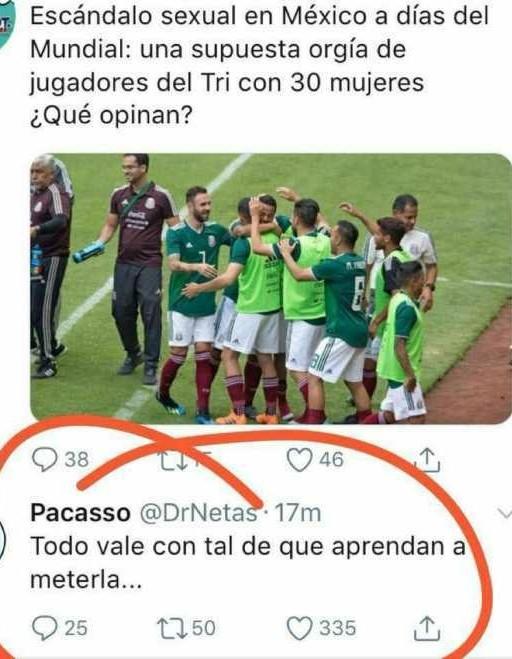 Mexico entrena duro xD - meme