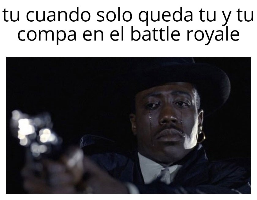 Di no al las amistades en battle royale - meme