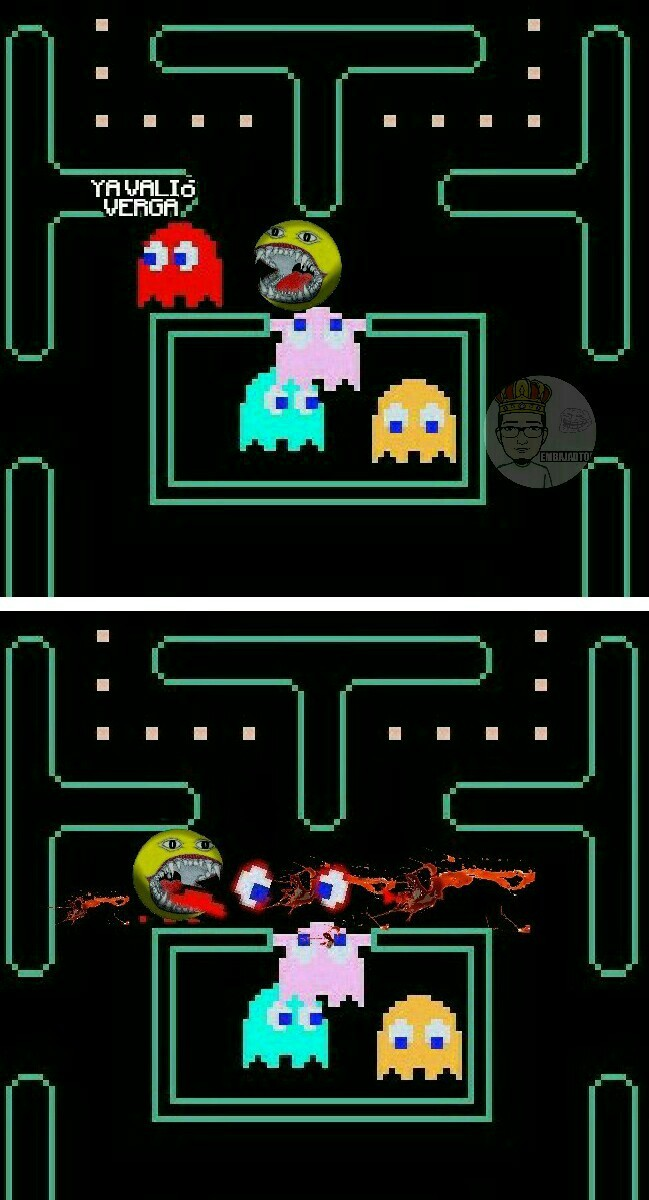 Pac-Man gorey - meme