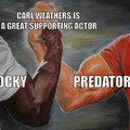 Carl Weathers Epic Handshake