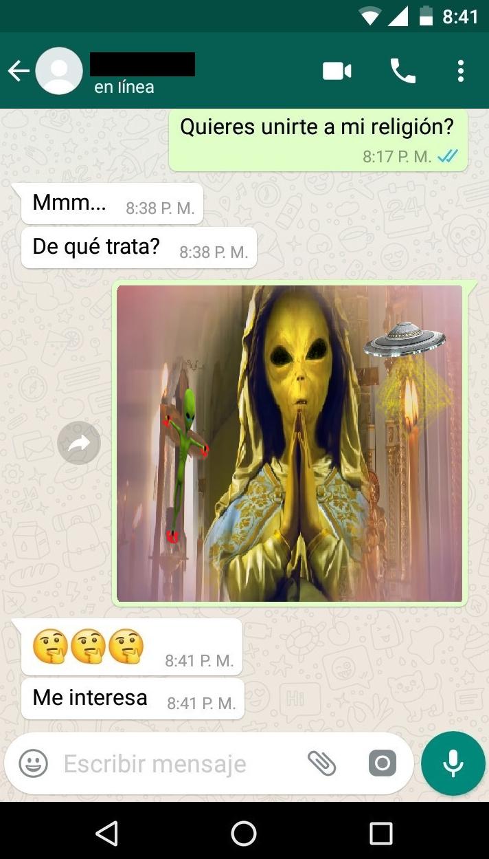 La Religión del la Cumbia - meme
