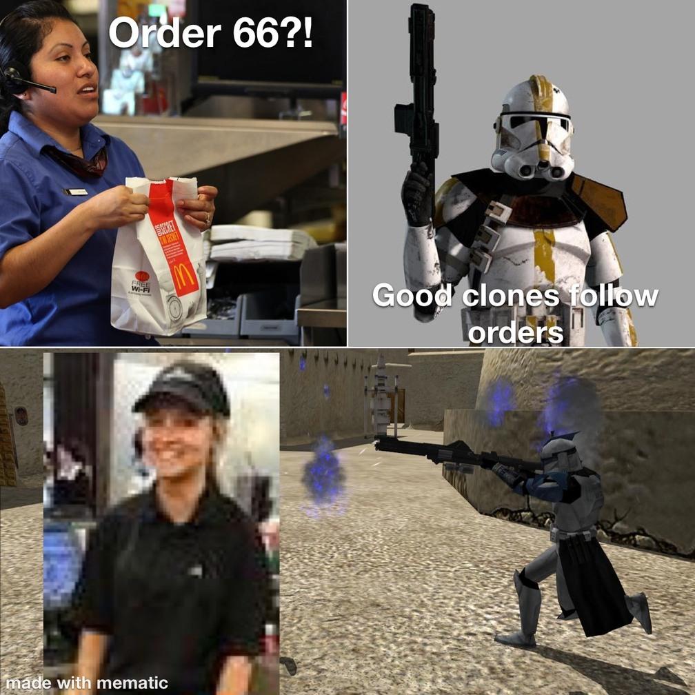 Order 66 - meme