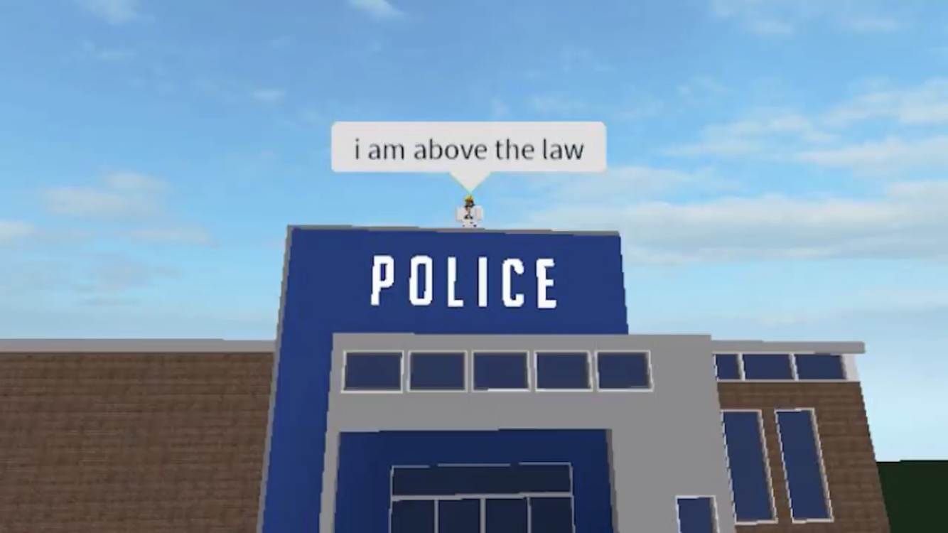 i am above the law - meme