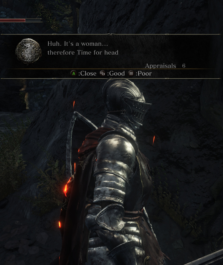 Dark souls 3 is horny again - meme