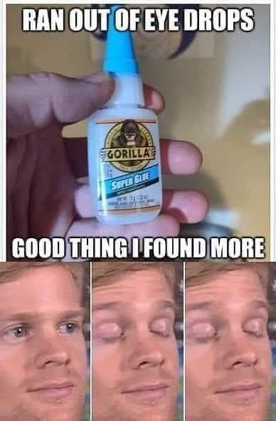 My glue - meme
