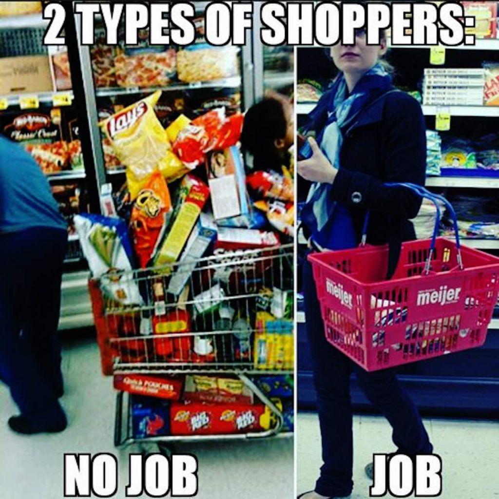 Welfare recipients - meme