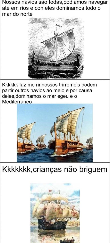 caravelas portuguesas >>>>>>>>> - meme
