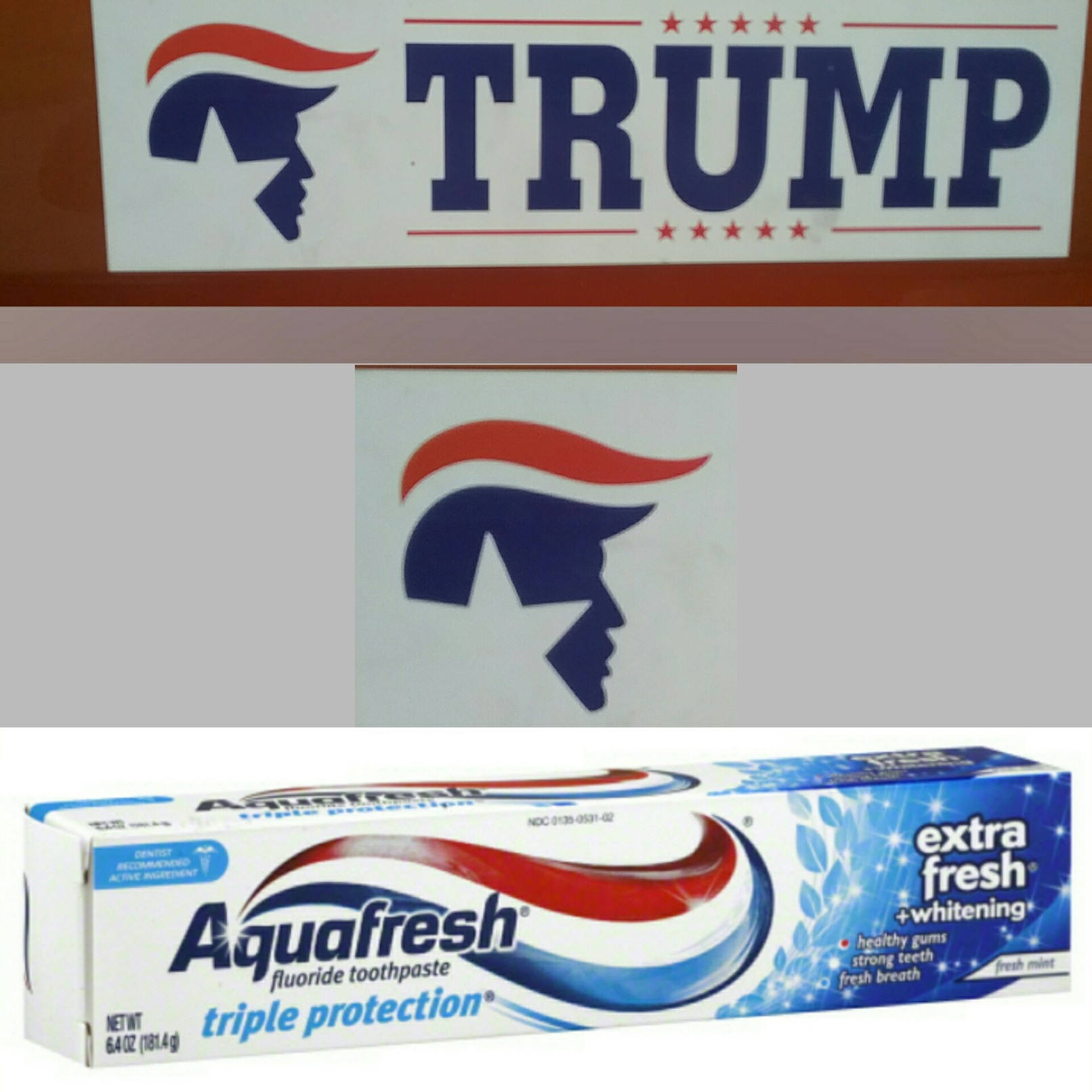 Toothpaste Hair - meme