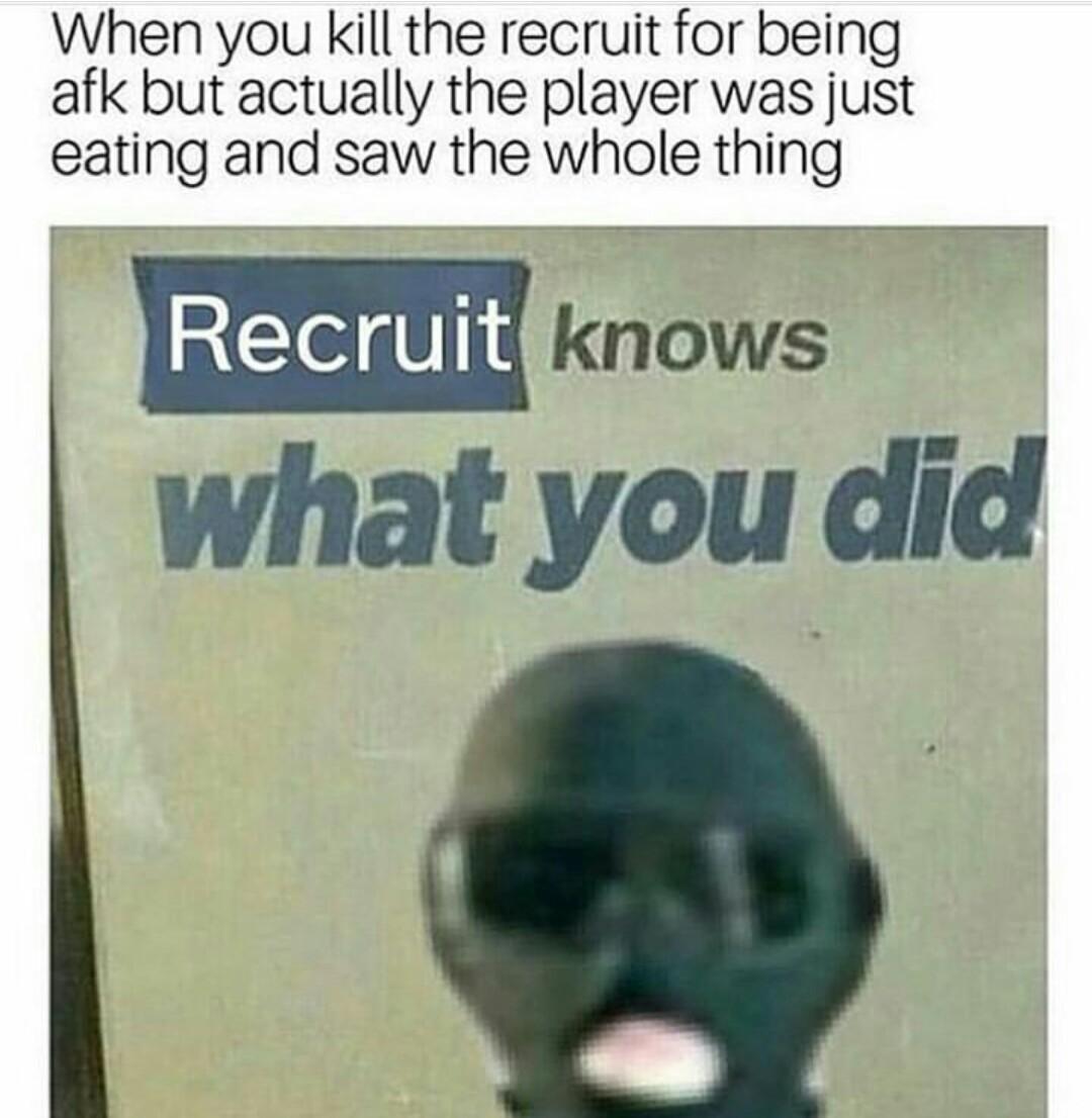 Never happen to me - meme
