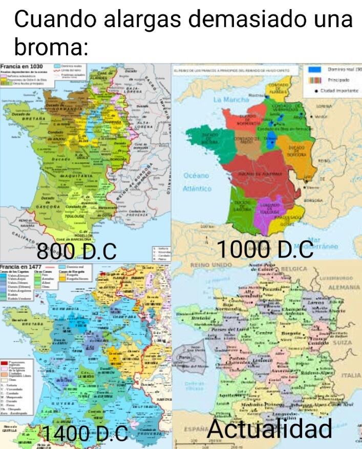 francia, hogar de los francos - meme