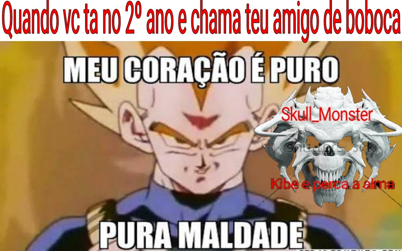 Maldadis ;-; [Skull_Cangaceiro] - meme