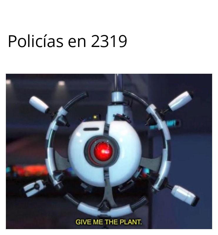 La plantaaaaa - meme