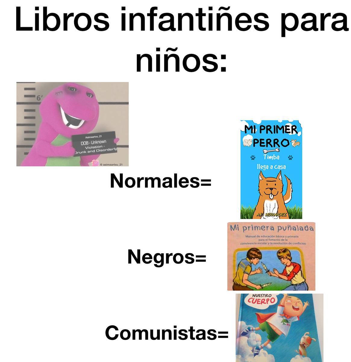 LibrosInfantiles - meme