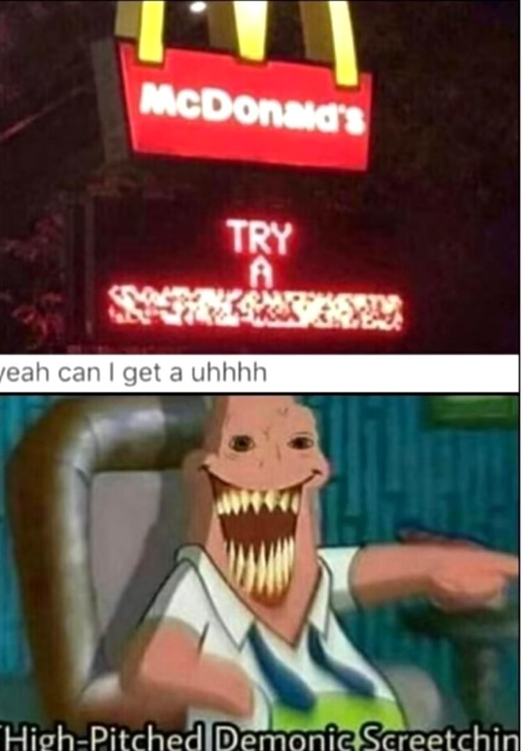 McDonalds fails - meme