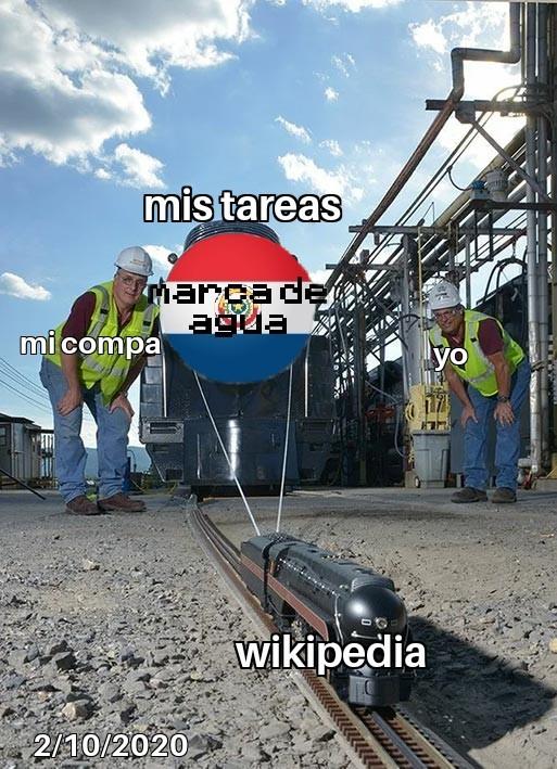 mi amiga wikipedia - meme