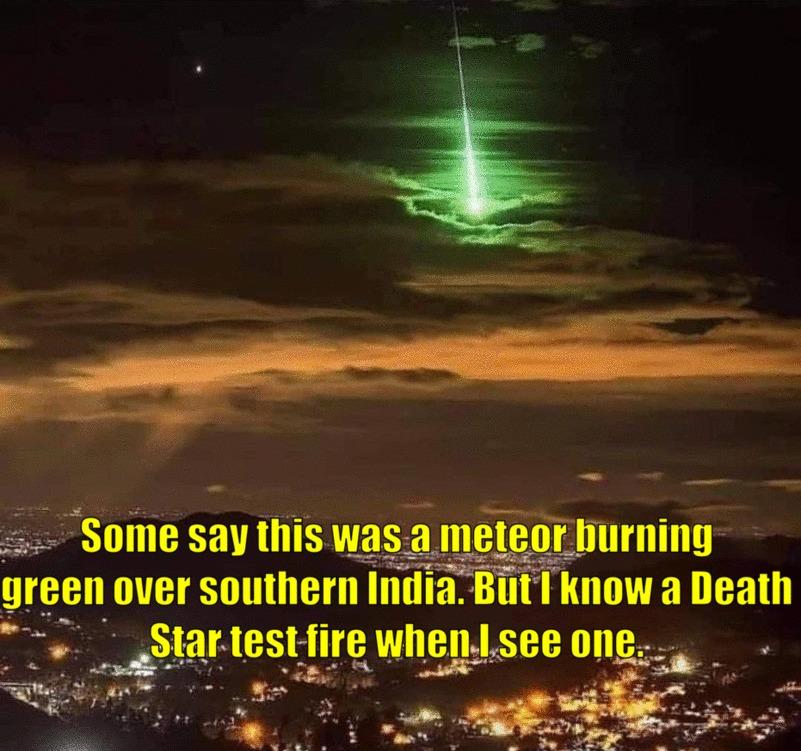 I want a Death Star - meme
