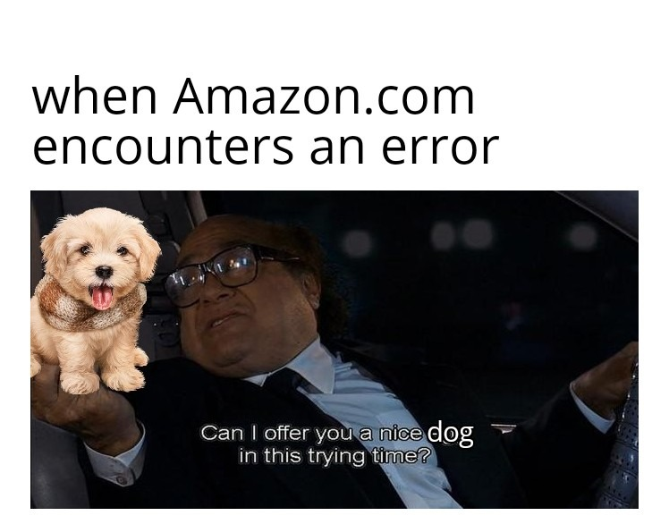 Here have a puppy - meme