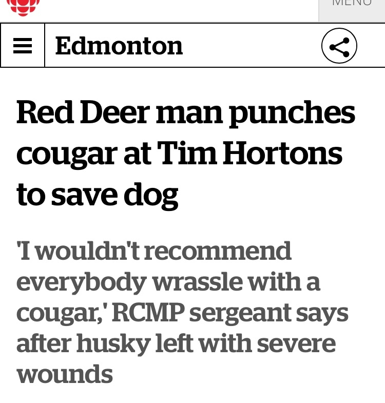 2nd most Canadian thing I've seen today - meme