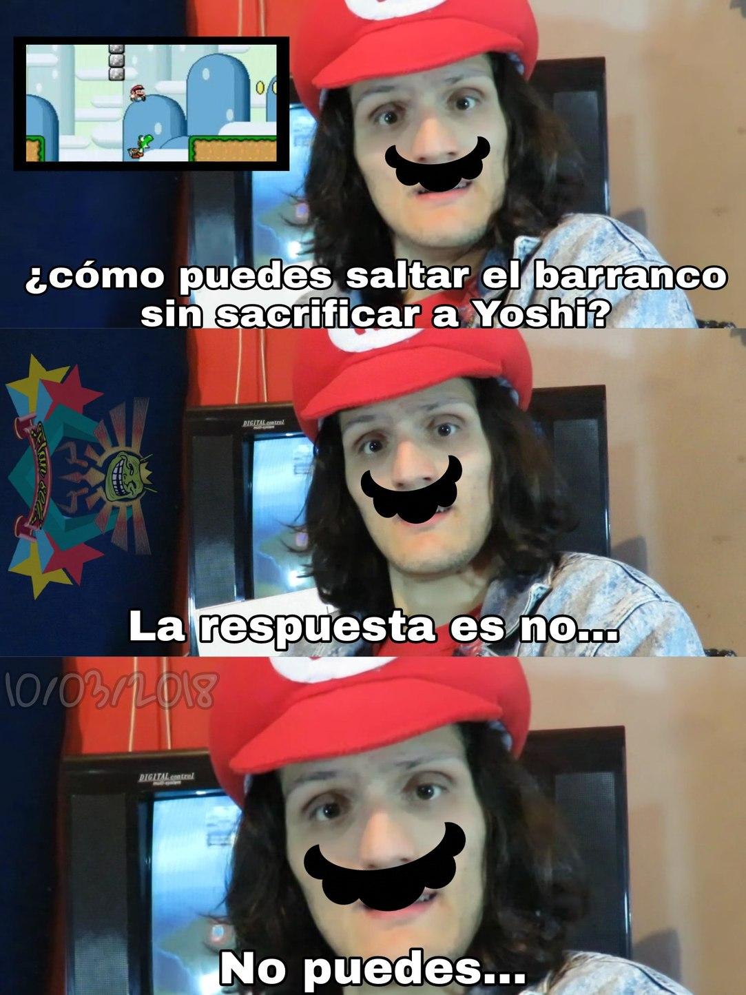 ¡Mama mia! - meme