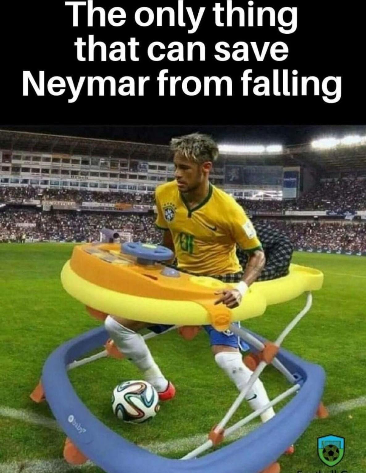 Neymar a kid - meme