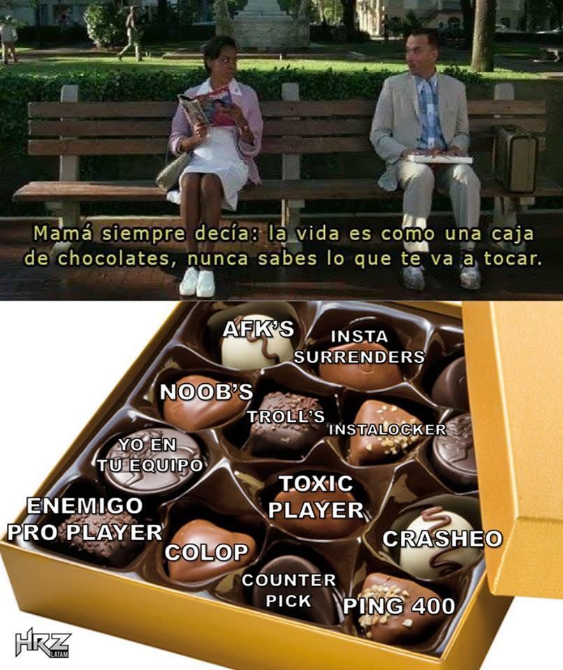 La caja - meme