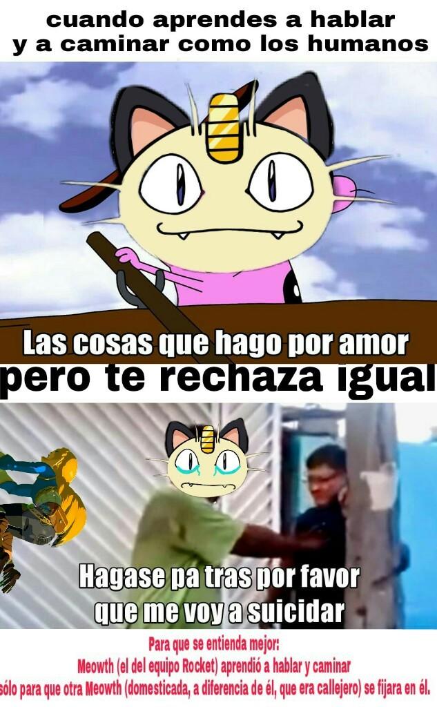 Pobre Meowth :c - meme